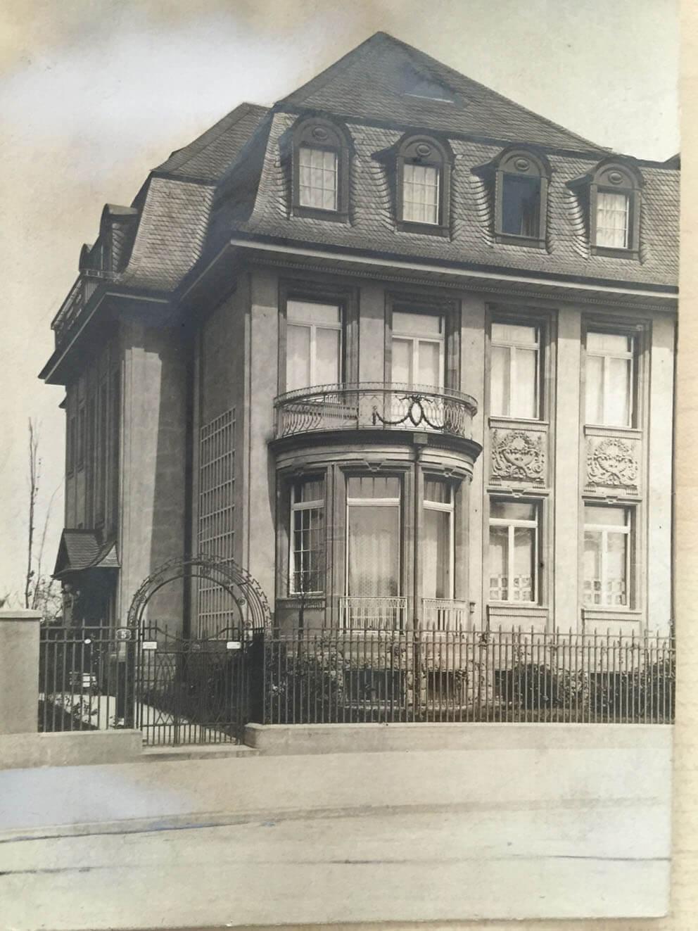Historische Aufnahme von 1912